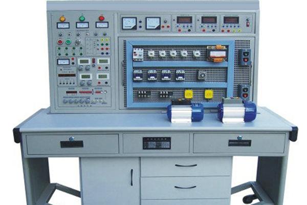 可模拟工厂各类电机的电力拖动系统,并可满足维修电工的电路安装,调试