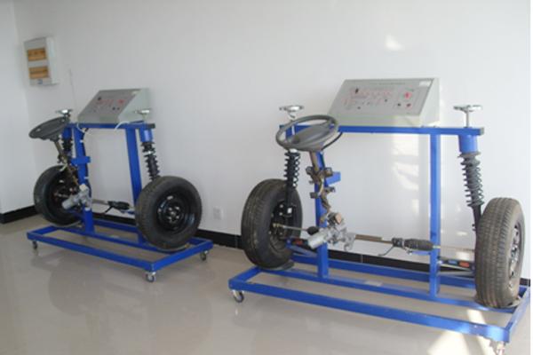 电控底盘实训室主要承担汽车专业课程中电控底盘构造